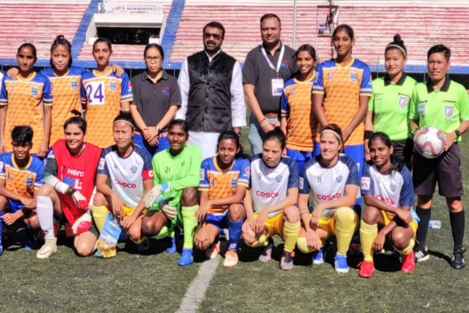 Anita Basnet Involved Sethu FC Beats FC Kolhapur City In Indian Women's League