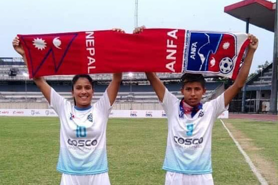Match Day For Two Nepal Internationals In Indian Women's League