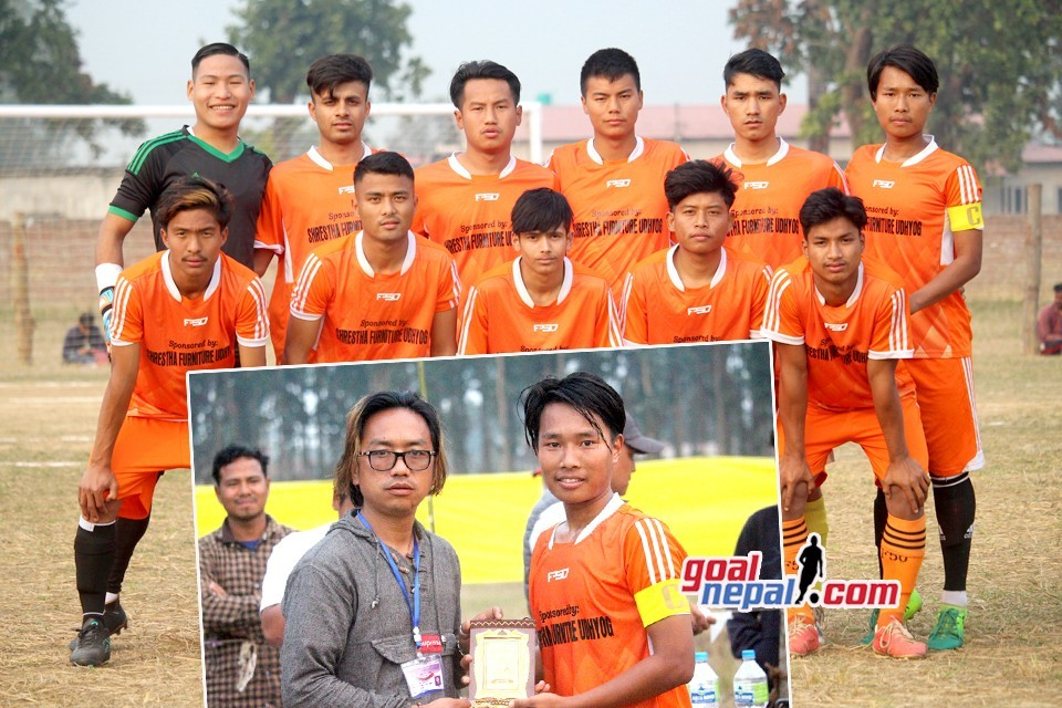 Rupandehi: Bishwo Shanti Yuwa Club Enters SFs Of 11th Himalayan Cup