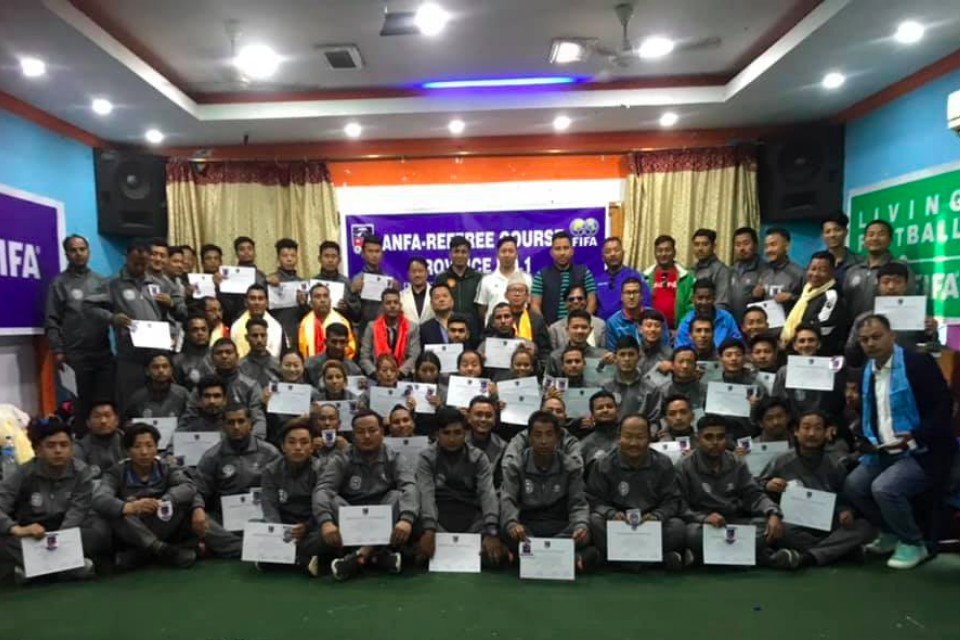 Sunsari: Province 1 Referee Training Course Concludes