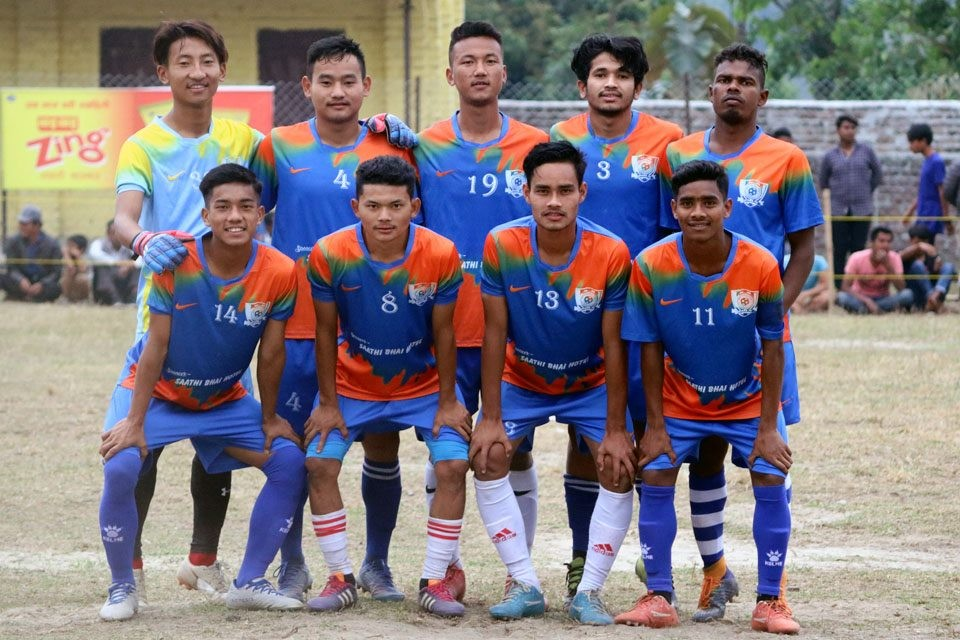 Jhapa FC Enters Final Of District Wide 9-A-Side Championship