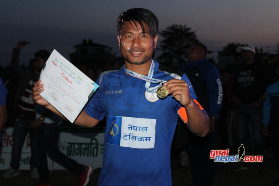 Jumanu Rai Adjudged The MVP; Receives Nrs 51,000 Cash
