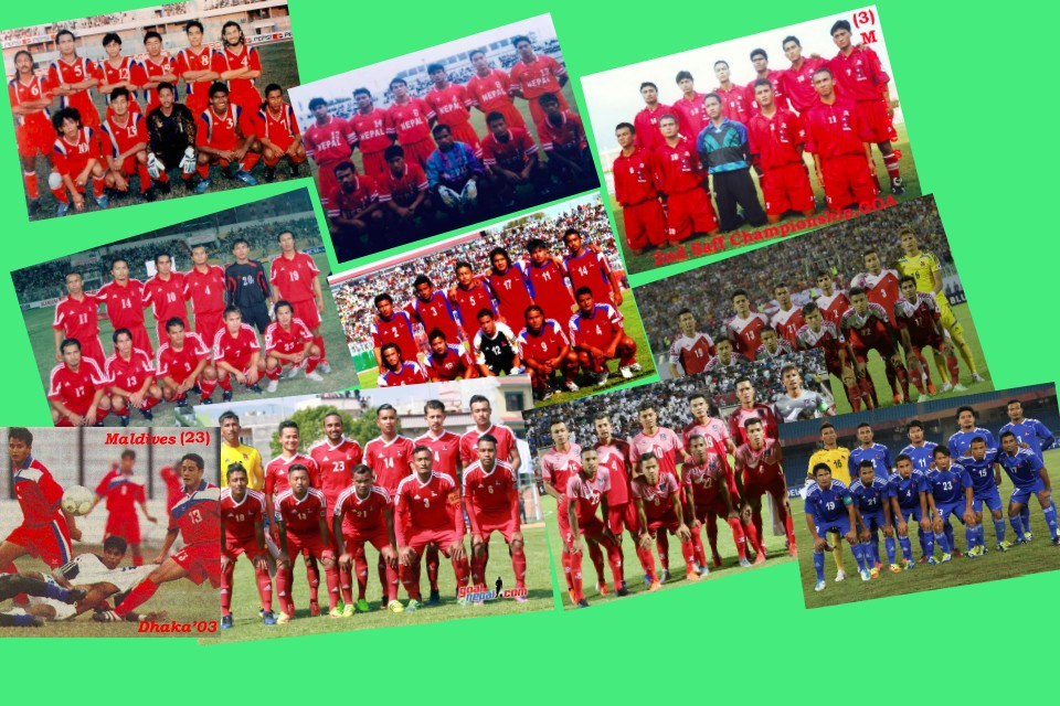 The 14 National Team Shirts That Nepal Worn In 27 Years
