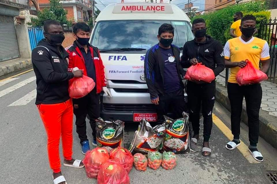 ANFA Provides Relief To Foreign Players Based In Nepal