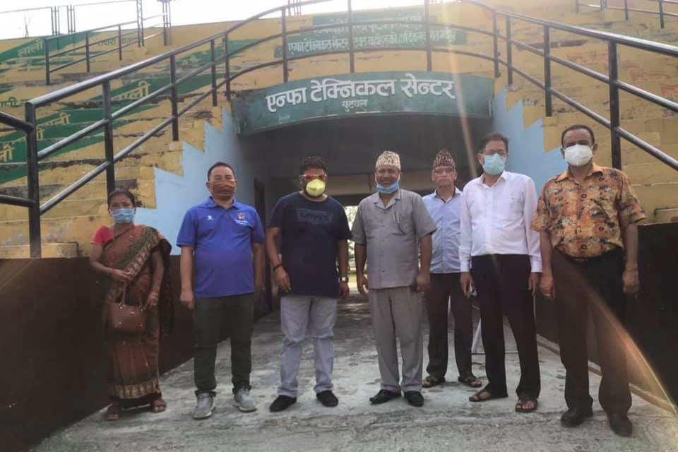 Rupandehi: Butwal Sub Metro Setting Up Isolation Camp At ANFA Butwal Complex