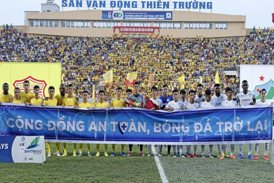 Football Returns In Vietnam As Cup Competition Kicks Off