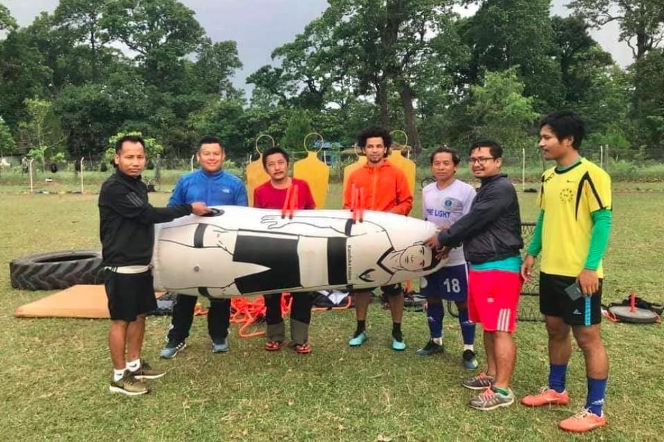 Belbari UK Samaj Provides Training Gears To Belbari FC