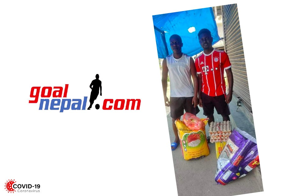 GoalNepal Foundation Supports African Players With Daily Essentials