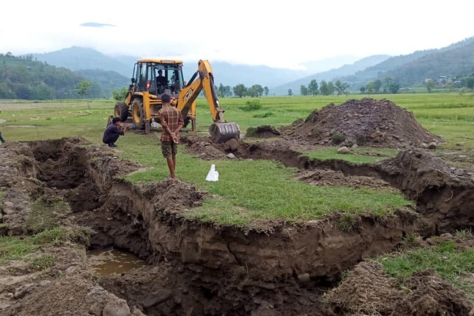 Gorkha: Construction Of Women's Football Technical Centre Begins At Chewetar