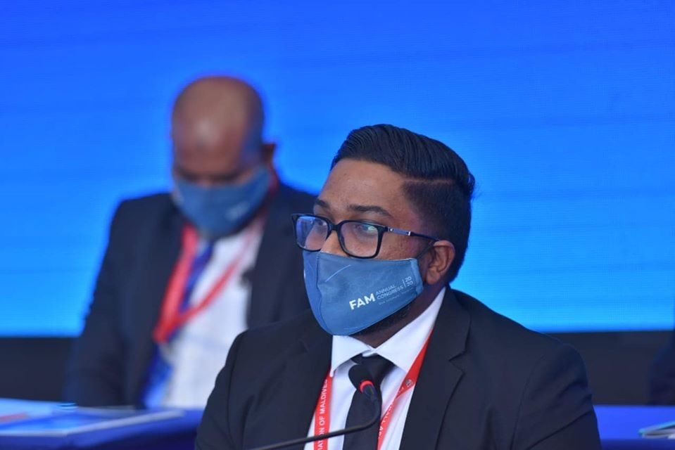 Bassam Adheel Re-elected The President Of Football Association of Maldives
