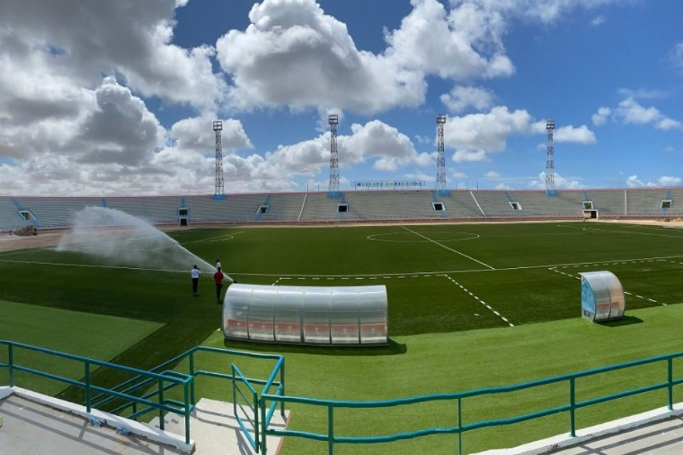 COVID Pandemic: Somalia FA Re-launches New Stadium Amid Global Pandemic