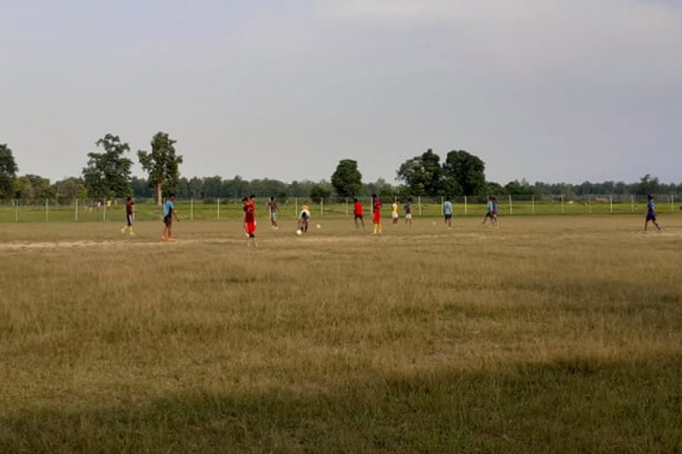 Kanchanpur: Charpate Yuwa Club Thanks FW Provincial Govt For Separating Budget For Their Playing Field
