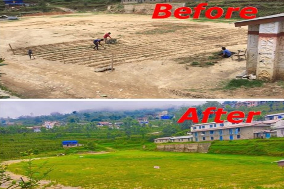 Khotang Football Academy Changes Face Of Their Playing Field