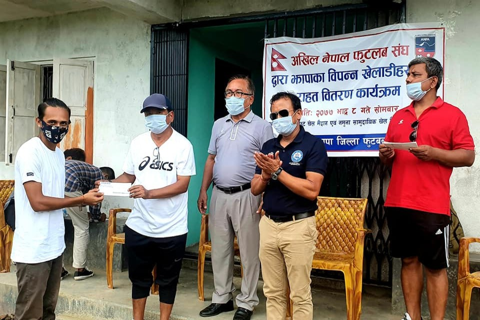 Jhapa DFA Provides COVID Relief To Players