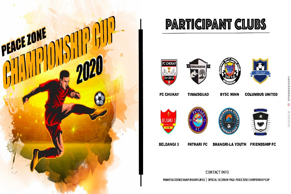 USA: Peace Zone Championship Cup 2020 Reveals Fixtures; LIVE On GoalNepal