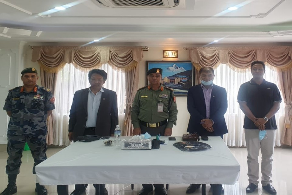 ANFA Meets With Nepal APF & Nepal Police To Discuss About Development Of The Game