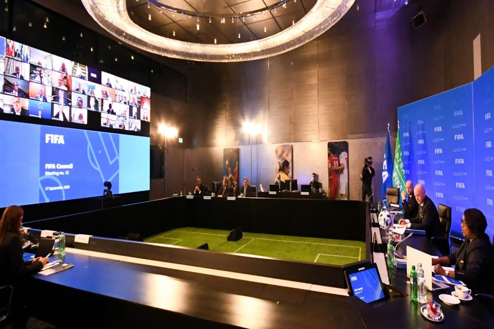 COVID-19 Measures High On Council's Agenda On Eve Of First Online FIFA Congress
