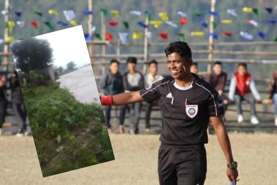 GoalNepal Foundation To Support Referee Santosh Chaudhary
