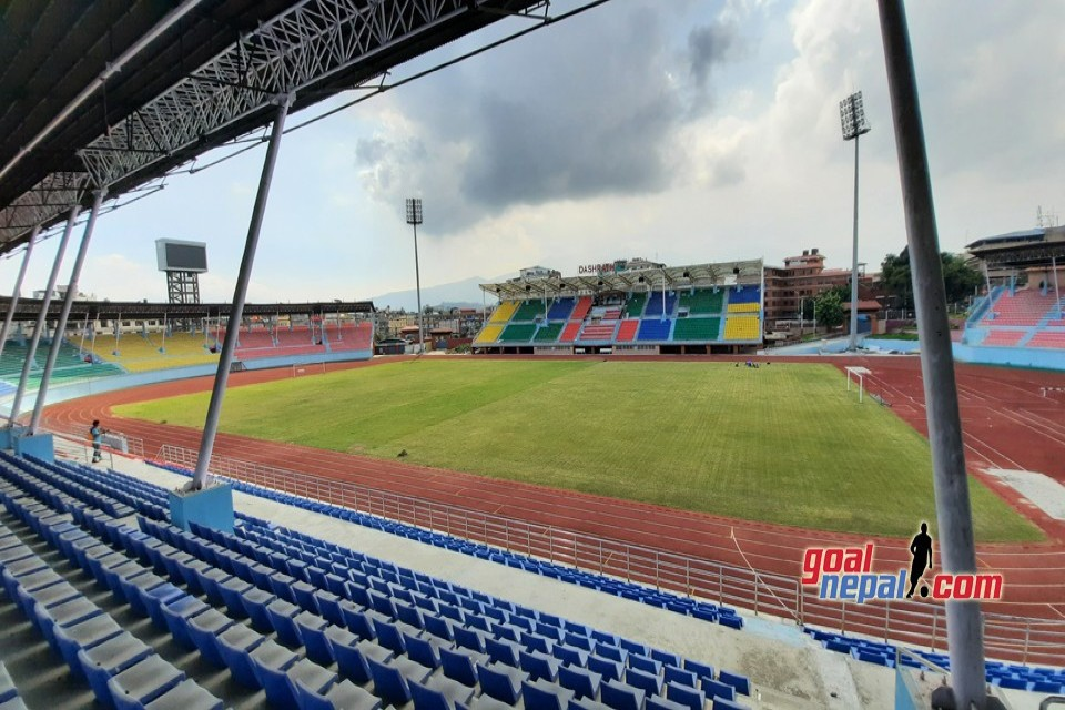 Except The Field, Dasarath Stadium Isn't Well Maintained - PICTORIAL