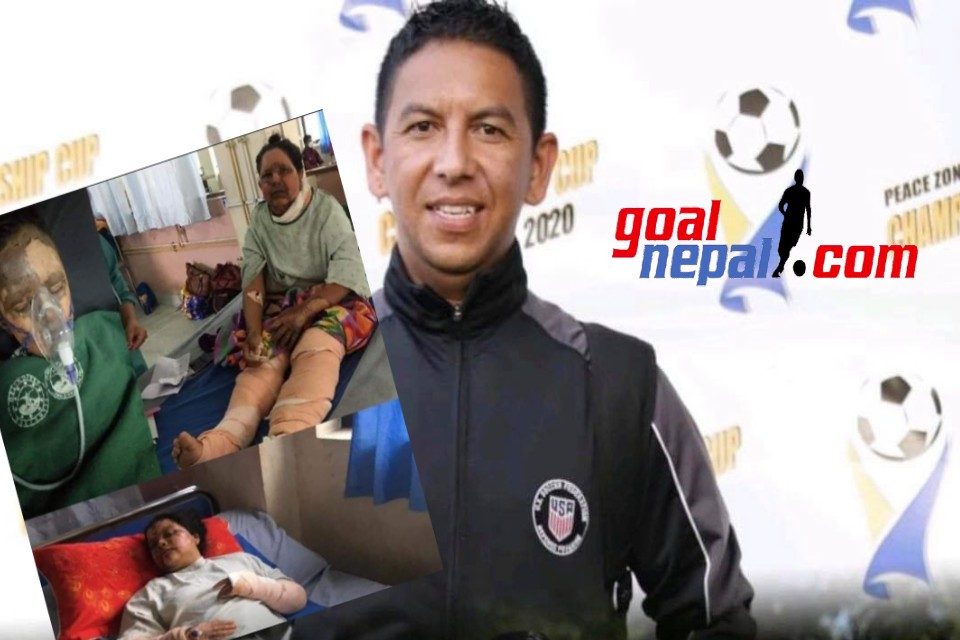 GoalNepal Foundation Donates NRs 15,000 To Referee Harish Karki