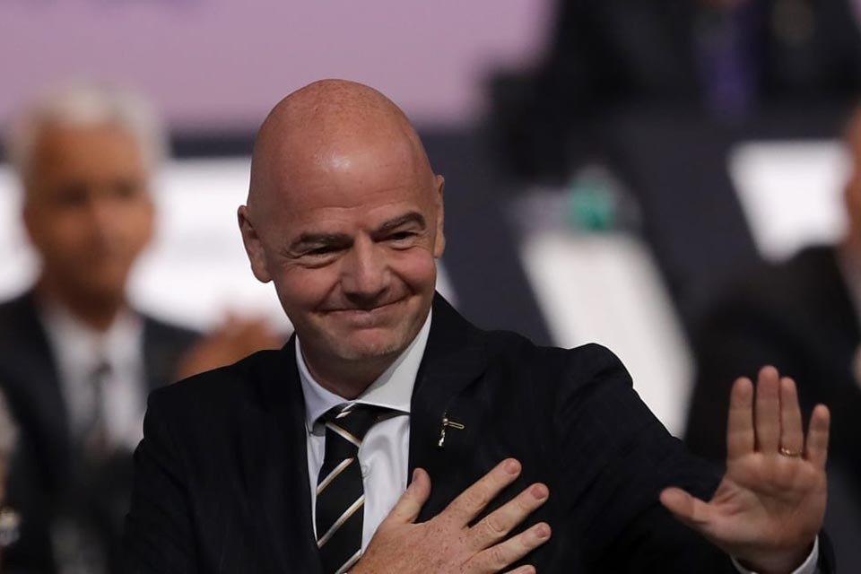 FIFA Prez Infantino Tested Corona Virus Positive
