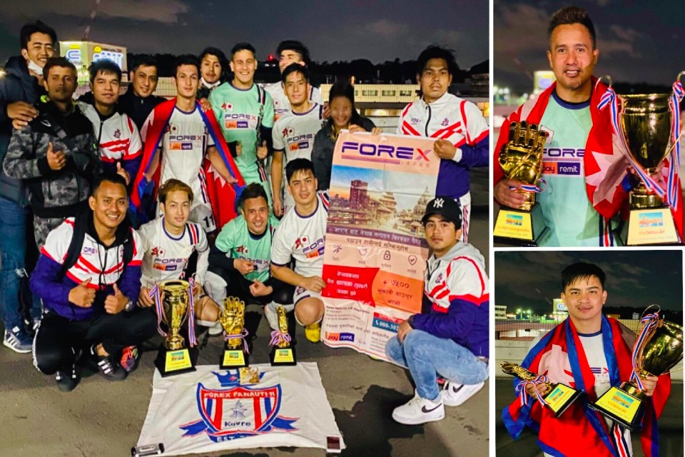 Japan: Forex Panauti Club Wins Title Of 1st Thai Yokohama Futsal Championship