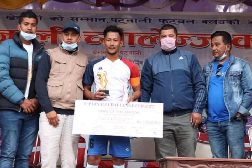 Sunsari: Panchayan FC & Danigat FC Register Win In 1st Patnali Cup