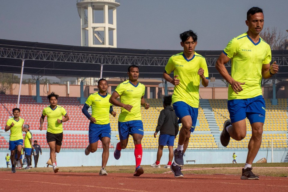Cooper Test For Nepal National Team Players Held