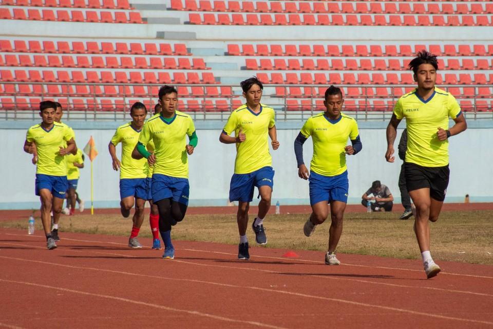 Coach BGM Trims Nepal National Team Squad