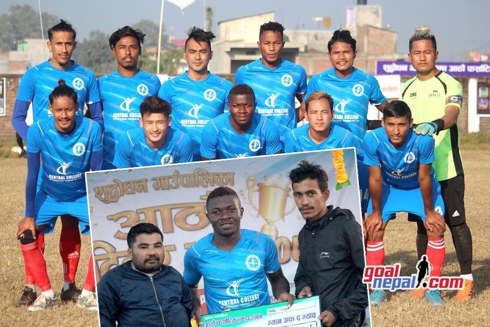 Rupandehi: Central College Bharatpur FC Enters Final Of 8th Pharsatikar Cup