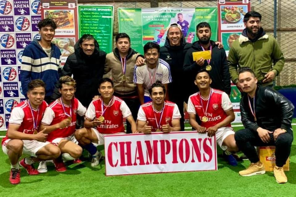 Kaski: Putali FC Wins Title Of 1st Amateur Futsal Championship
