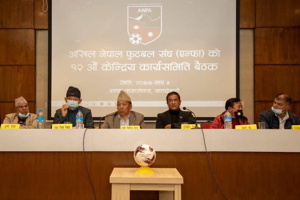 ANFA Estimates Budget Of NRs 85 Crore For 2077/78 FY