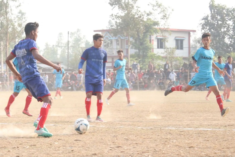 Banke: Masuriya Academy Enters Final Of 1st Shyam Thapa Memorial Cup