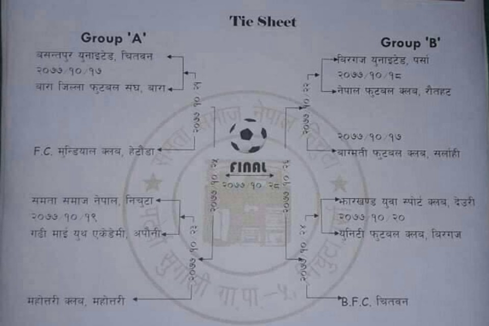Parsa: Paterwa Sugauli Rural Municipality Cup From Magh 17