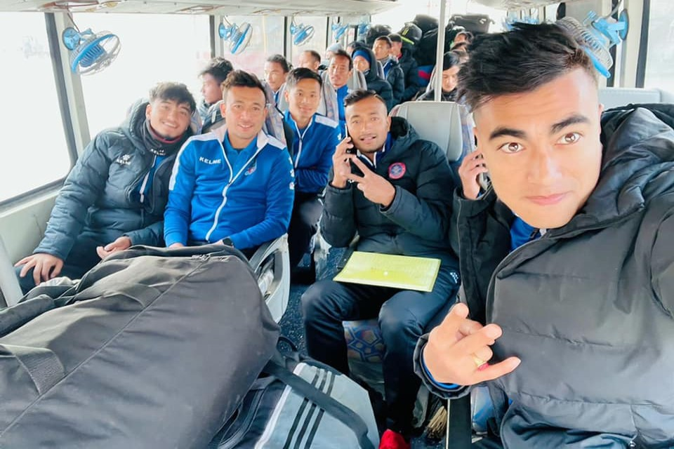 Nepal National Team Moves To Pokhara For A Closed Camp