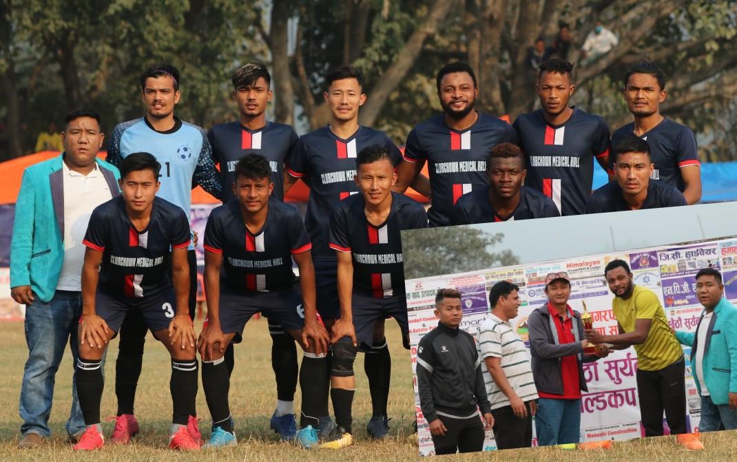 6th Suryanagar Gold Cup: Lekhnath United Kaski Enters Final