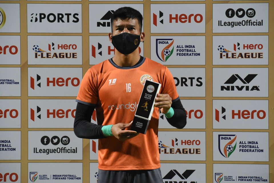 Nepal International GK Kiran Chemjong Adjudged Feb Player Of The Month