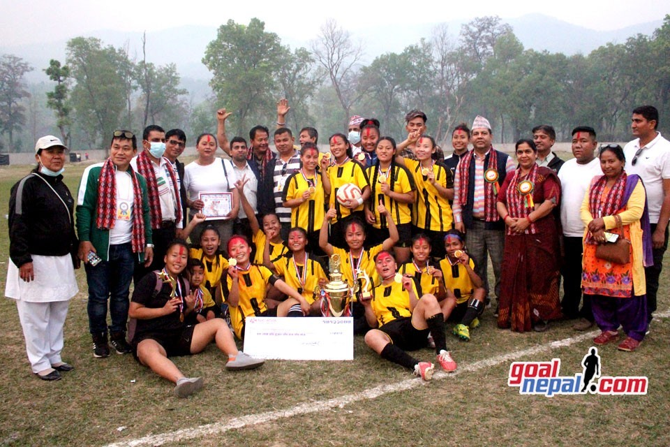 Nawalparasi: Lekhnath United, Kaski Wins Title Of Bardaghat Dy Mayor Cup