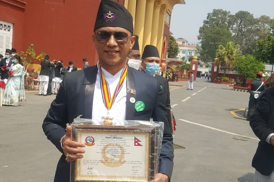 Nepal Government Honors Coach Hari Khadka With Prabal Janasewa Shree IV Award