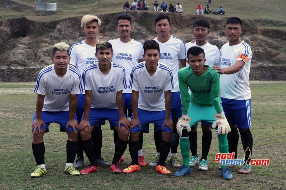 LYC Bhujung, Adarsha Youth, Maling Move Second Round In Uttarkanya Smart Village Gold Cup