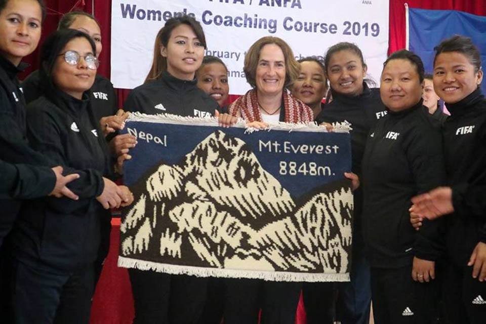 Good News For Female Coaches In Nepal - APPLY NOW !!