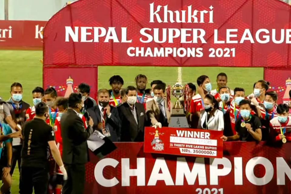 Kathmandu RayZrs Are The Champions Of Nepal Super League