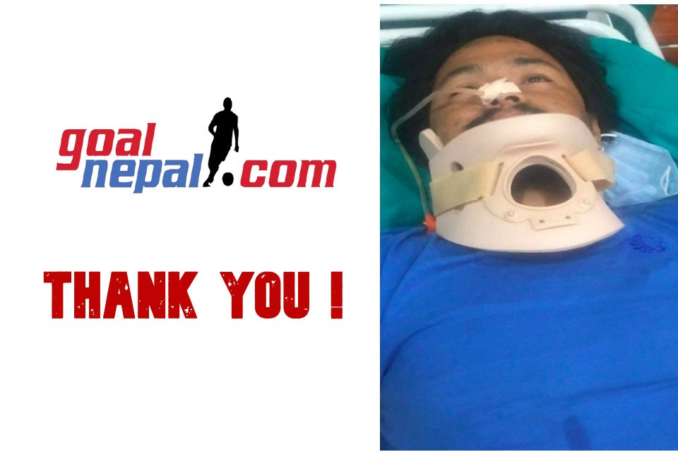 Nepalese Football Community Covers Medical Bill Of Injured Mohan Taramu