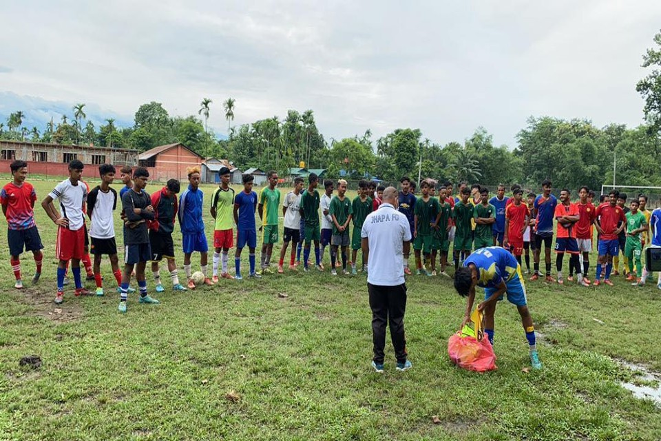 More Than 200 Players Attend Jhapa FC Trial