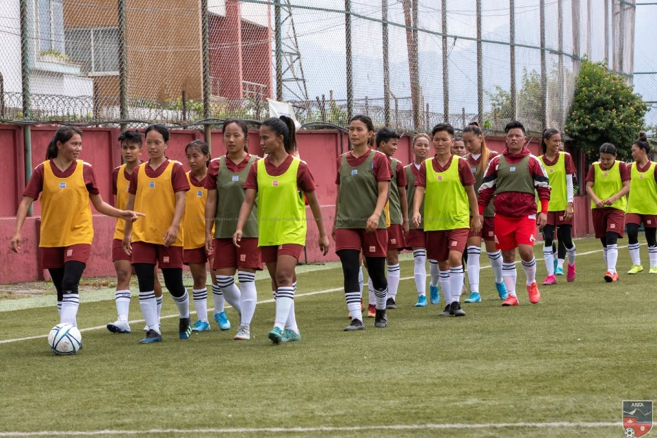 Nepal Women's Team To Play Friendly Matches Ahead Of AFC Women's Asian Cup 2022 Qualifiers