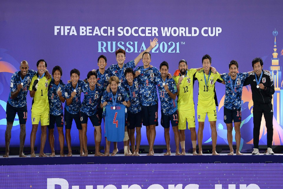Silver Finish For Japan As RFU Win Third FIFA Beach Soccer World Cup Title
