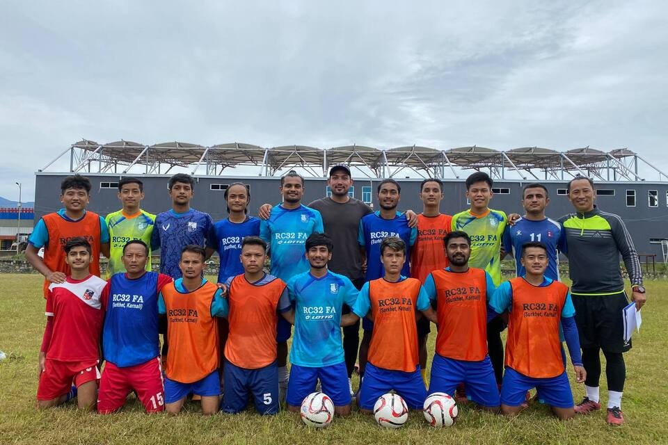 RC32 Football Academy Sets Up Closed Camp In Pokhara