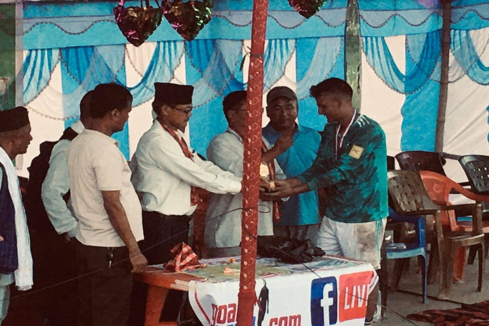 Parsa: Mahabir Club Beats Yug Jyoti In Late Ram Bahadur Shrestha Gold Cup