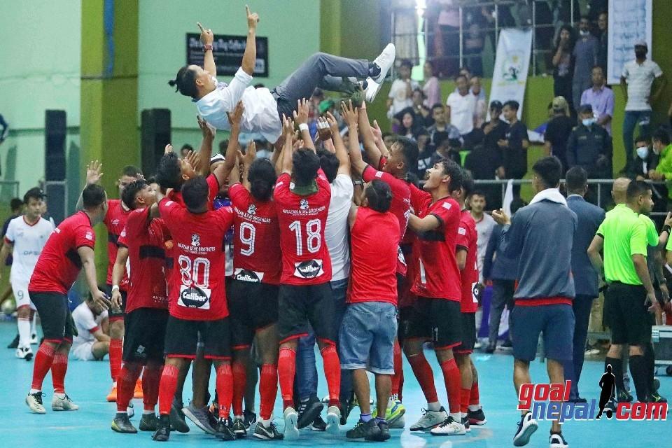 Sports Castle Pokhara Wins Title Of 1st Nepal National Futsal League