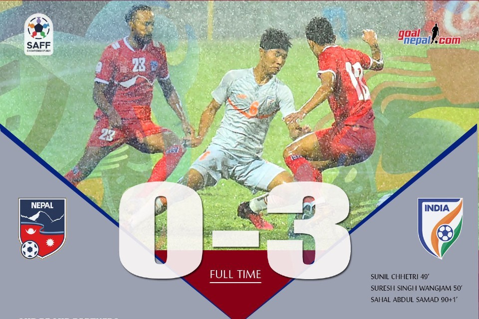 Heartbreak For Nepal As India Clinches 8th SAFF Title